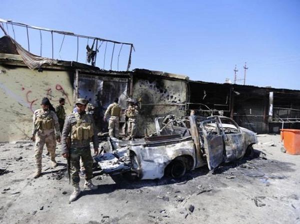 Một vụ đánh bom xe hơi tại Iraq (Ảnh minh họa)