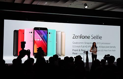 Asus Zenfone Selfie có camera trước 13MP