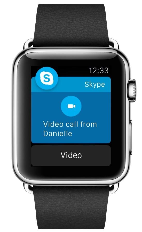 Skype cập nhật phiên bản mới, tối ưu hóa cho Apple Watch