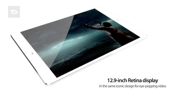 iPad Pro có màn hình 12,9 inch độ phân giải cao