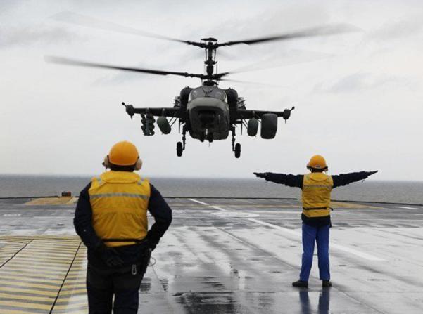 Priboy sẽ được trang bị trực thăng tấn công Ka-52K của Nga