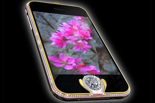 iPhone 3G nạm kim cương có giá 2,4 triệu USD