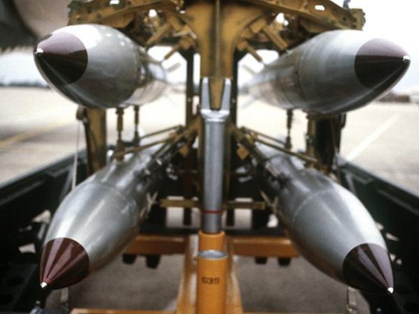 Vũ khí hạt nhân chiến thuật B-61 của Mỹ