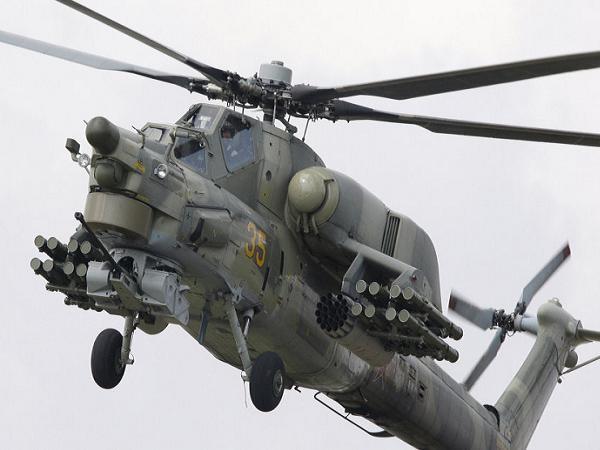 Máy bay trực thăng tấn công Mi-28 của Nga