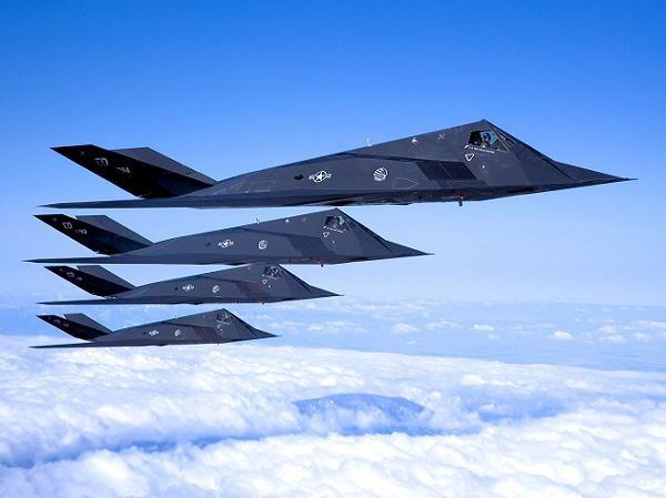 """Máy bay chiến đấu """"tàng hình"""" F-117 Nighthawk của Mỹ"""