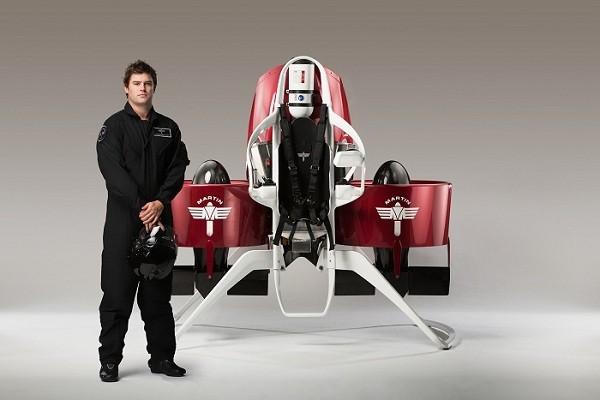 Xe bay Martin Jetpack được bán vào năm sau