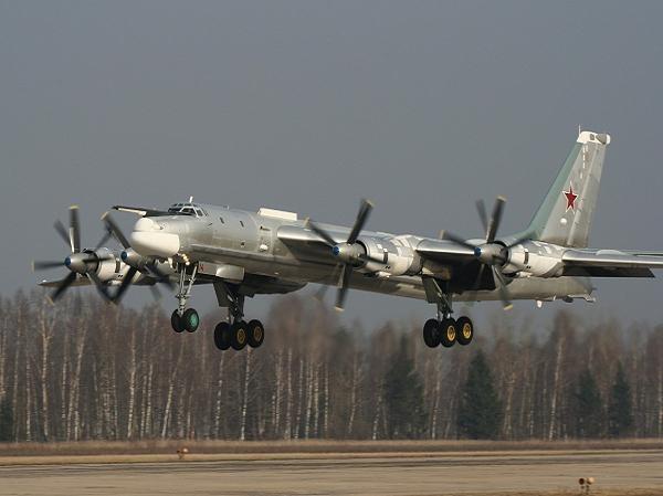Máy bay ném bom chiến lược Tu-95 Bear của Nga