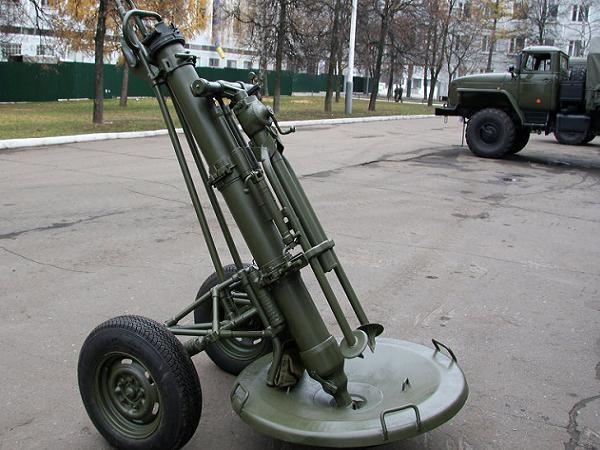 Hệ thống cối 2S12 Sani 120 mm của Nga