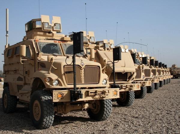 Xe bọc thép bảo vệ phục kích chống mìn (MRAP) của quân đội Mỹ