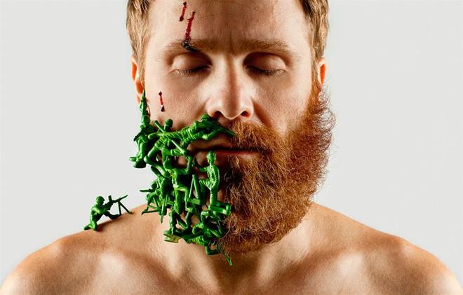 """Khám phá bộ ảnh độc đáo: """"Một nửa bộ râu"""" ảnh 1"""