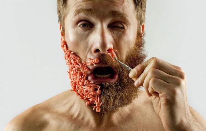 """Khám phá bộ ảnh độc đáo: """"Một nửa bộ râu"""" ảnh 2"""