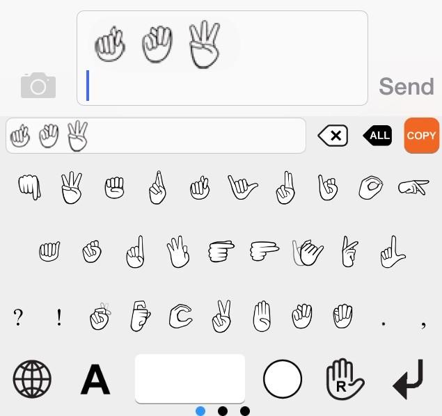 Bàn phím dành cho người khuyết tật trên iOS