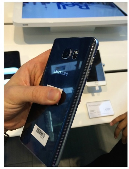 """Samsung Galaxy Note 5 chính thức """"hiện nguyên hình"""" ảnh 1"""