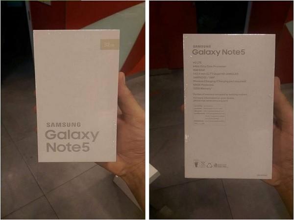 """Samsung Galaxy Note 5 chính thức """"hiện nguyên hình"""" ảnh 6"""