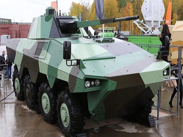 Xe bọc thép chiến đấu bộ binh ATOM của Nga