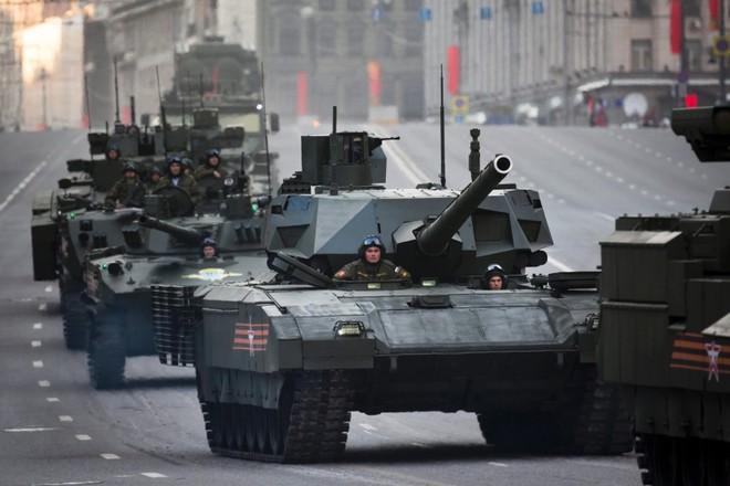 Xe tăng chiến đấu chủ lực tương lai của lục quân Nga T-14 Armata