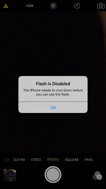 iPhone 6S quá nóng, flash không hoạt động? ảnh 1