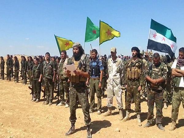 """Bộ tư lệnh """"Núi lửa Euphrates"""" tại Syria"""