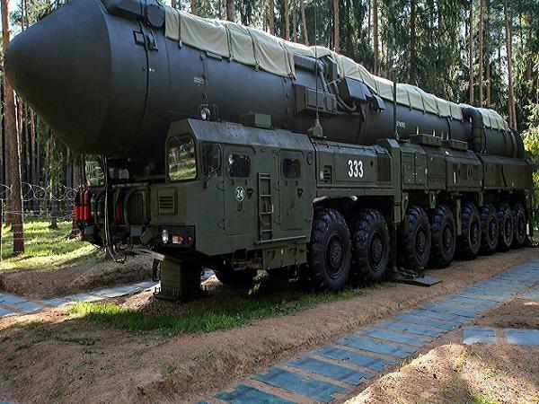 Tên lửa đạn đạo liên lục địa Yars của Nga