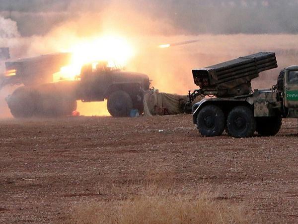 Một cuộc tấn công của quân đội Syria nhằm vào các mục tiêu của IS