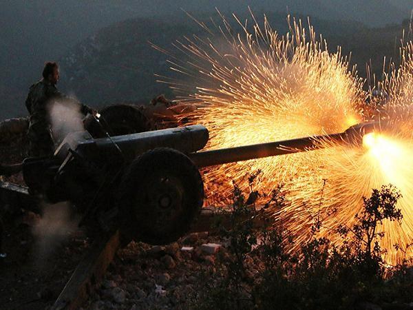 Quân đội Syria pháo kích vào tỉnh Latakia hôm 10-10