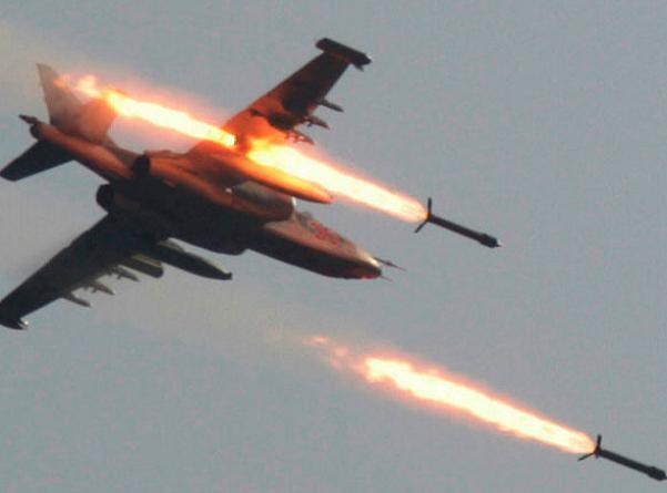 Không quân Nga đã không kích dữ dội vào các mục tiêu mặt đất của IS