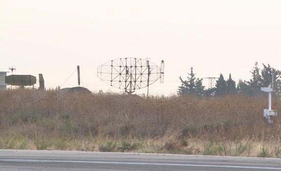Hệ thống radar cảnh giới của Nga ở sân bay Hmeymim