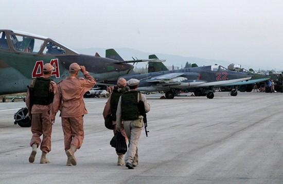 Nga mở cửa căn cứ không quân ở Syria cho truyền thông phương Tây ảnh 4