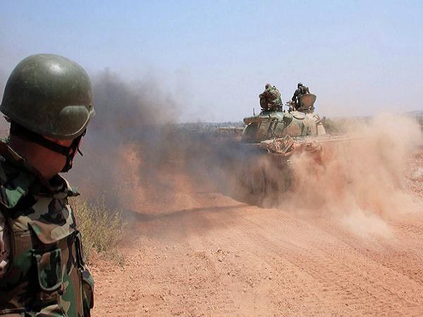 Quân đội Syria triển khai chiến dịch chống IS