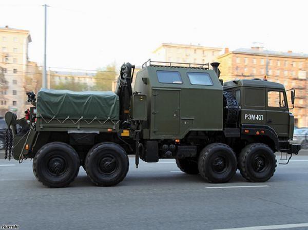 Xe cứu kéo REM-KL của lục quân Nga