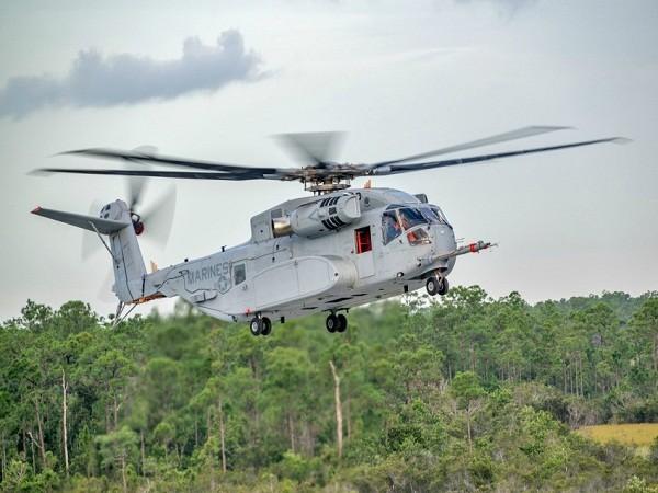 Cận cảnh trực thăng hạng nặng kiểu mới nhất của Mỹ ảnh 1