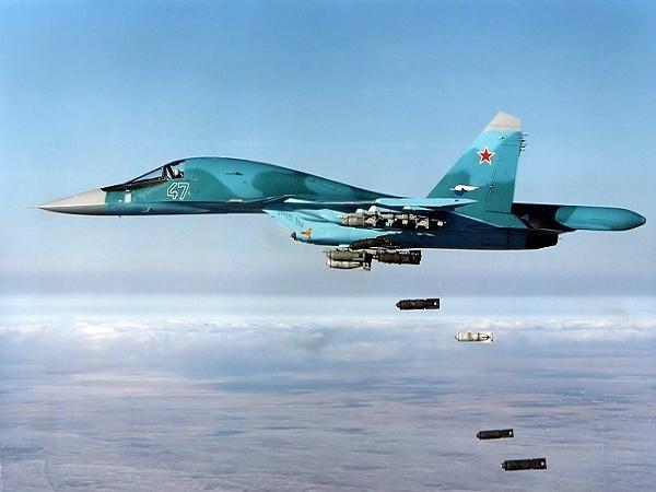 Máy bay cường kích Su-34 của Nga