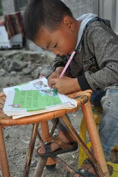 Sau khi chăm sóc cha, Ou Yanglin bắt đầu bài học của mình