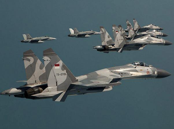 Chiến đấu cơ Su-30 và Su-27 của Indonesia