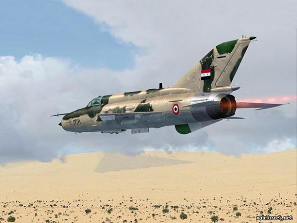 Máy bay chiến đấu MiG-21 của không quân Syria