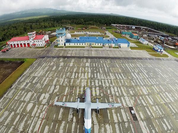 Sân bay mới được Nga xây dựng trên đảo Iturup thuộc quần đảo Kuril