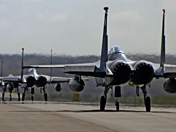 Mỹ triển khai phi đội 6 chiếc F-15C tới Thổ Nhĩ Kỳ