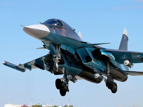 Máy bay ném bom Su-34 của không quân Nga