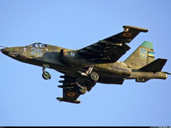Máy bay chiến đấu Su-25 của quân đội Ukraine
