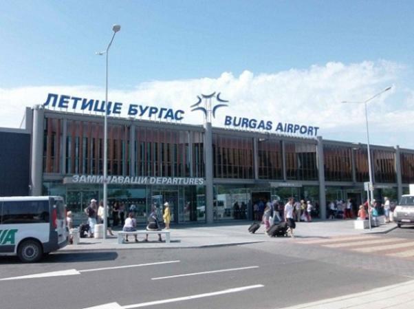 Sân bay thành phố Burgas của Bulgaria
