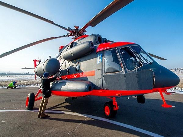 Máy bay trực thăng Mi-8AMTSh-VA của Nga