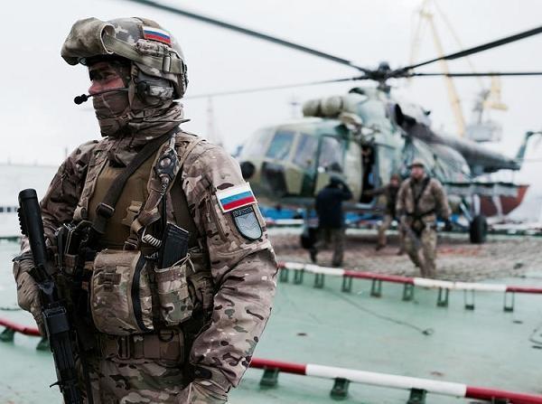 Lực lượng đặc nhiệm Nga (Ảnh minh họa)