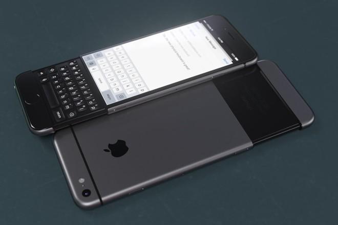 Concept iPhone 7 lấy cảm hứng từ BlackBerry Priv ảnh 4