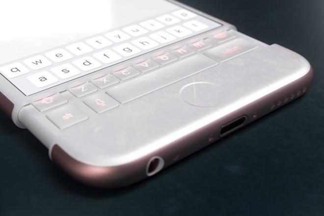 Concept iPhone 7 lấy cảm hứng từ BlackBerry Priv ảnh 8
