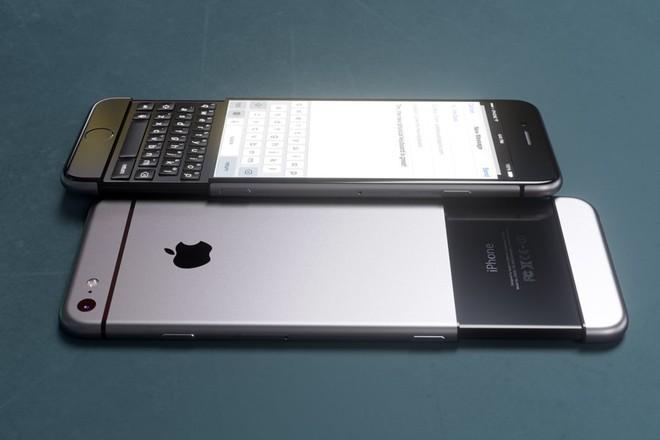 Concept iPhone 7 lấy cảm hứng từ BlackBerry Priv ảnh 5