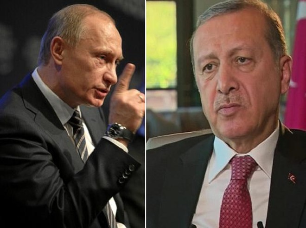 Tổng thống Nga Putin đã từ chối 2 cuộc gọi của Tổng thống Thổ Nhĩ Kỳ