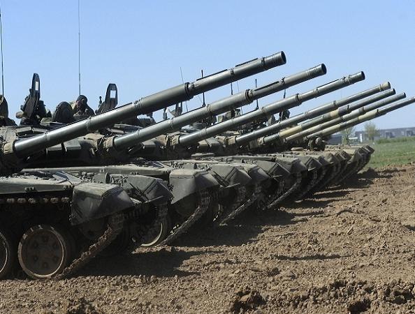 Xe tăng chiến đấu chủ lực T-72B3 của Nga
