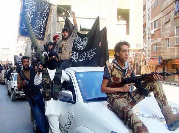 Nhóm phiến quân Mặt trận Al-Nusra - một chi nhánh của al-Qaeda ở Syria