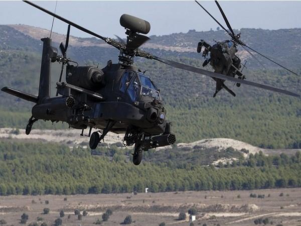 Máy bay trực thăng tấn công Apache của Mỹ