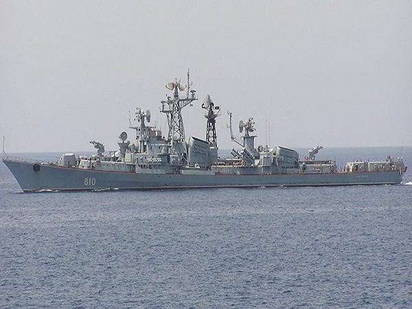 Tàu khu trục Smetlvy của hải quân Nga